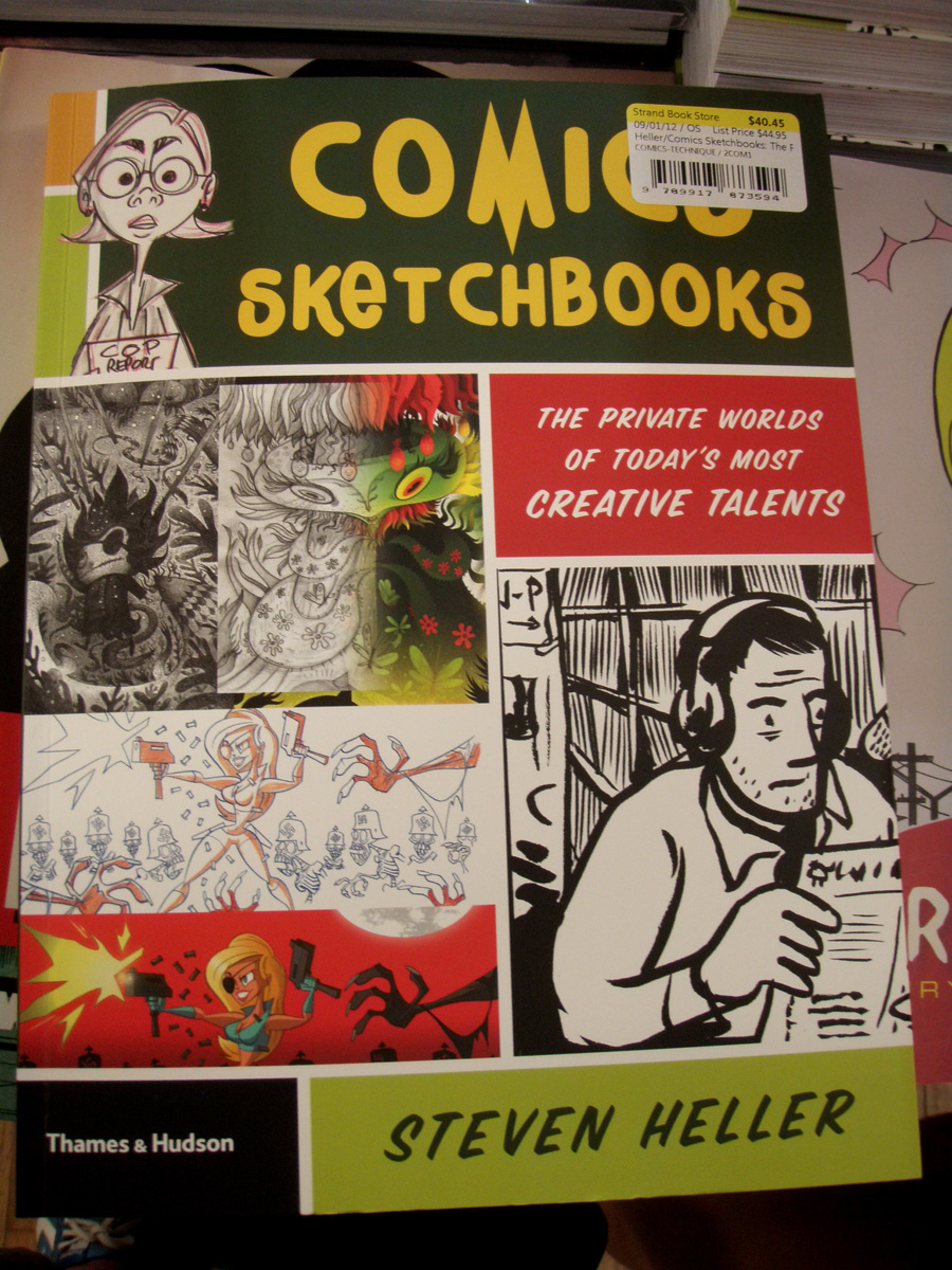Comics Sketchbooks img4